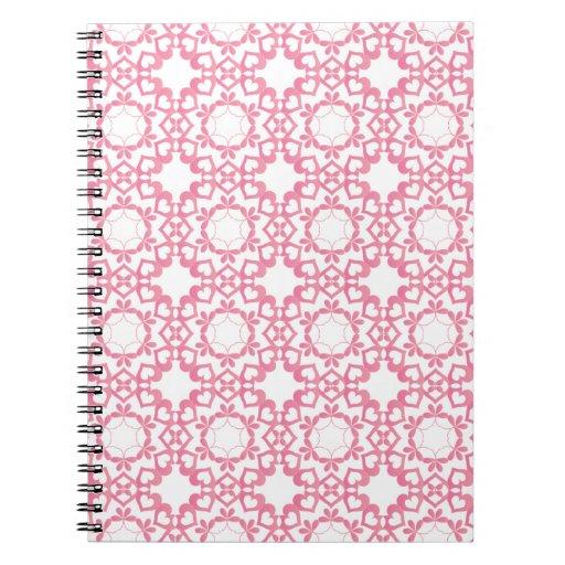 Ligado por el cuaderno del amor - rosa
