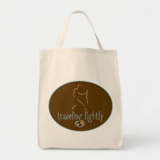 Ligero-Wanderlust que viaja Bolsa Tela Para La Compra