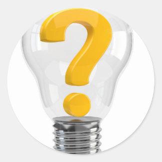 light-bulb-100-eop pegatina redonda