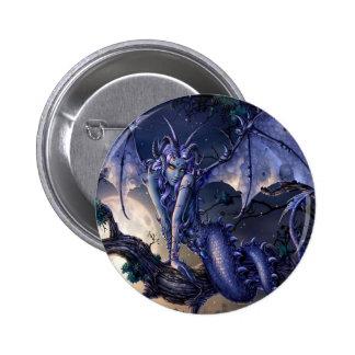 Ligón abstracto del chica del dragón de la fantasí pins