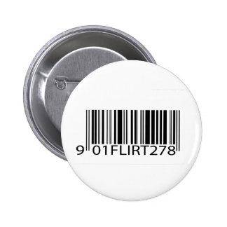Ligón del código de barras pin