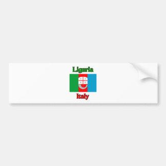 Liguria Italia Pegatina Para Coche