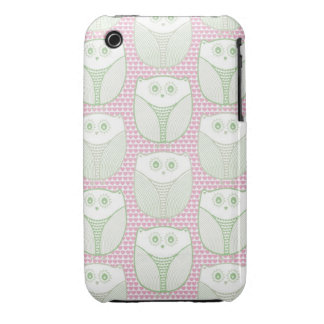 """""""Lil Heart Owl"""" iPhone 3 Case"""