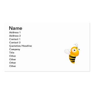 Lil manosea la abeja tarjeta personal