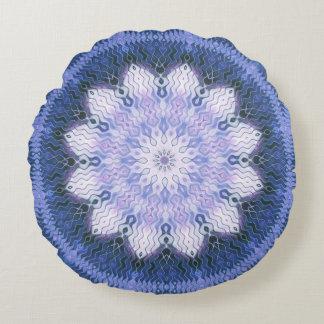 Lila Lotus que soña la almohada redonda de la Cojín Redondo