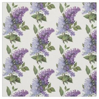 Lilas frescas - decoración francesa del hogar del tela
