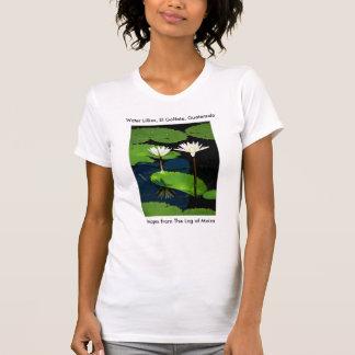 Lillies del agua, EL Golfete, Guatemala Camisetas