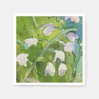 Lilly de las servilletas del cóctel del valle servilletas de papel