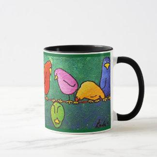 """LimbBirds """"Feelin abajo?"""" Taza de café"""