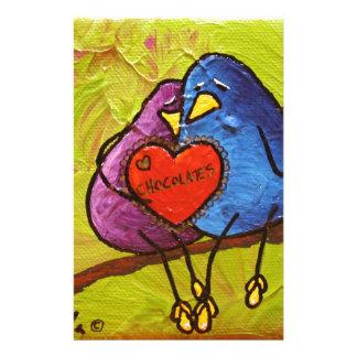 """LimbBirds """"tarjeta del día de San Valentín del Papelería"""