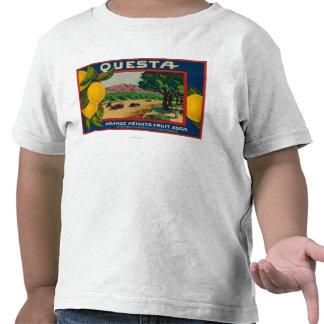 Limón LabelCorona, CA de Questa Camisetas
