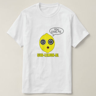 Limón subconsciente camisetas