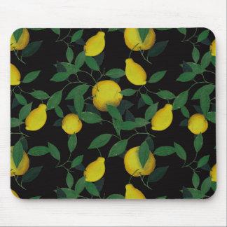 Limón tropical alfombrilla de ratón