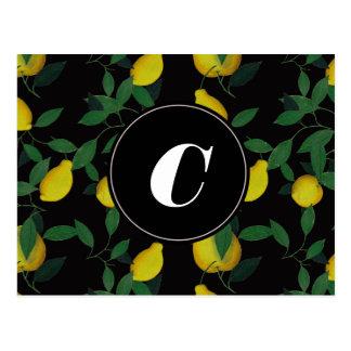 Limón tropical postal