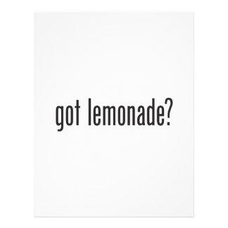 limonada conseguida folleto 21,6 x 28 cm
