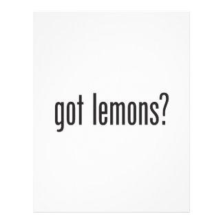 limones conseguidos tarjetas informativas