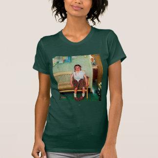 Limpiabotas o exterior la oficina del principal camiseta