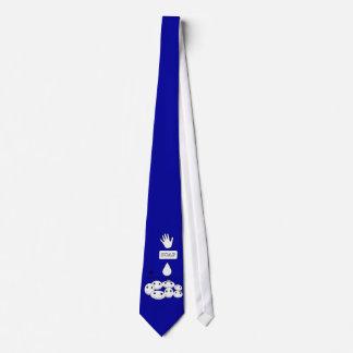 Limpie a los niños felices iguales de las manos corbata