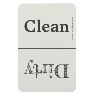 Limpie el imán sucio