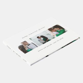 Limpie el libro de visitas EDITABLE del boda del
