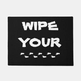 Limpie su Doormat de los pies