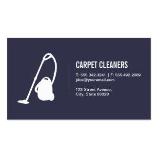 Limpieza de la alfombra tarjetas de visita