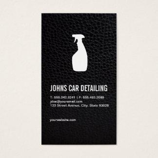 Limpieza del coche tarjeta de negocios