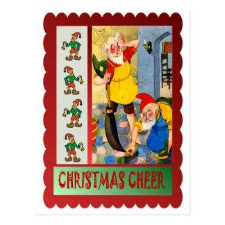 Limpieza del navidad postal