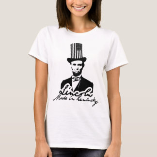 Lincoln. Made in Kentucky Edition Camiseta