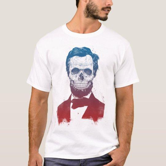 Lincoln muerto camiseta