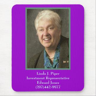 Linda, Linda J. PiperInvestment RepresentativeE… Alfombrilla De Ratón