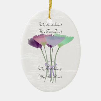 Lindo añada el ornamento de las flores del Peony