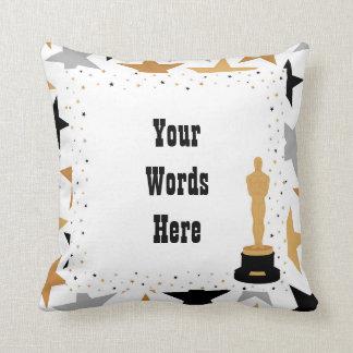 Lindo añada la almohada de la decoración del cine
