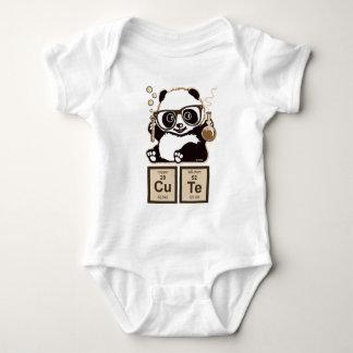Lindo descubierta panda de la química body para bebé