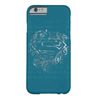Lindo estupendo de la mosca estupenda de Supergirl Funda Para iPhone 6 Barely There