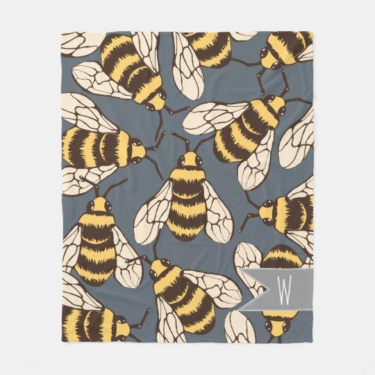 Lindo manosee el ejemplo de las abejas - manta polar