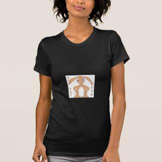 Lindo, y quizás grasa, conejo camiseta