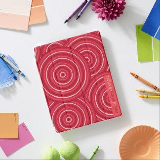 Línea aborigen cubierta del iPad de la pintura