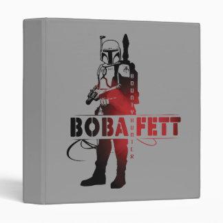 Línea arte de Boba Fett Carpeta 2,5 Cm
