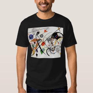 Línea camiseta de Kandinsky Tranverse