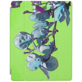 Línea cubierta verde del iPad de la magnolia Cubierta De iPad