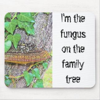 Línea del hongo de la familia alfombrilla de ratón