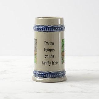 Línea del hongo de la familia jarra de cerveza