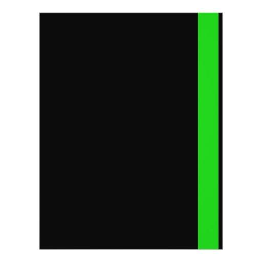 Línea fina Colección-Bombero-Doctor-Médico-Rescate Flyer Personalizado