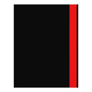 Línea fina Colección-Bombero-Doctor-Médico-Rescate Flyer A Todo Color