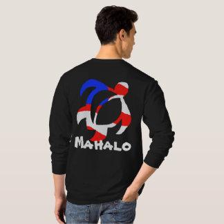 LineA los E.E.U.U. Mahalo Honu Camiseta