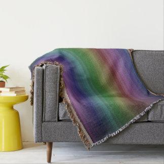 Línea modelo de la raya de la roca del arco iris manta
