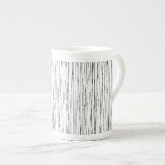 Línea moderna taza del modelo taza de porcelana