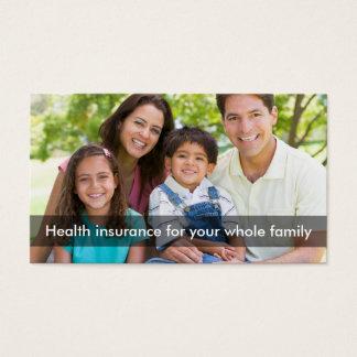 Línea multi representante del seguro médico tarjeta de negocios