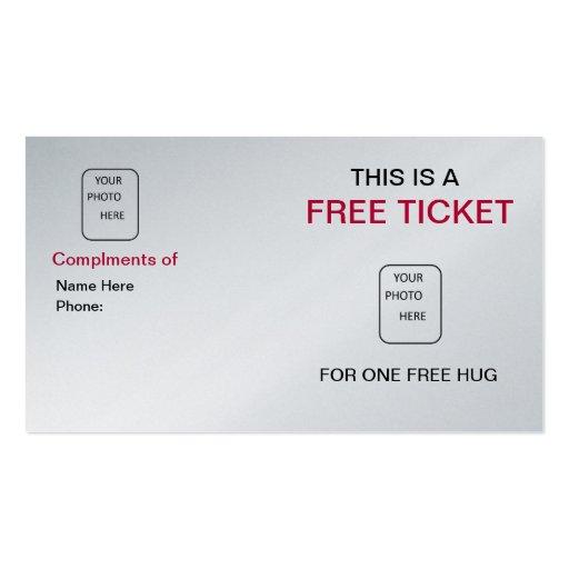 Línea tarjeta de la recogida de la barra de visita tarjeta de visita